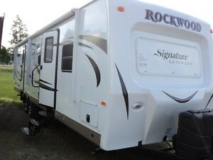 2016 Rockwood 8312SS with bunk house slide