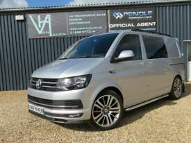 2016 16 VOLKSWAGEN TRANSPORTER T6 T30 HIGHLINE DSG 140PS KOMBI NO VAT