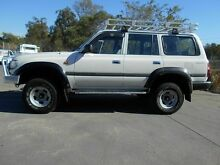1994 Toyota Landcruiser GXL (4x4) White 4 Speed Automatic 4x4 Wagon Wacol Brisbane South West Preview