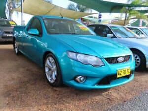 2008 Ford Falcon FG XR6 Super Cab Green 5 Speed Sports Automatic Cab Chassis Minchinbury Blacktown Area Preview