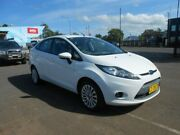 2010 Ford Fiesta WT LX PwrShift Cool White 6 Speed Sports Automatic Dual Clutch Sedan Nowra Nowra-Bomaderry Preview