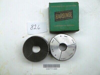 Hardinge S22 0.826 Round Smooth Collet Pad Set New