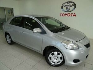 2012 Toyota Yaris NCP93R 10 Upgrade YRS Silver 4 Speed Automatic Sedan Westcourt Cairns City Preview