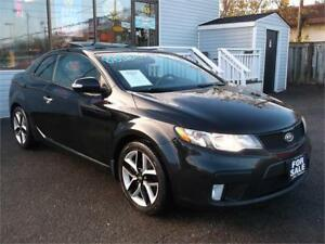 2010 KIA FORTE KOUP SX * SUNROOF * LEATHER * HEATED SEATS *