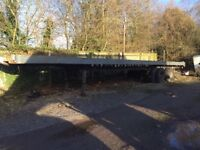 Flat bed York Trailer - Vintage dated 1970's