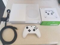 xbox one console s with new controller