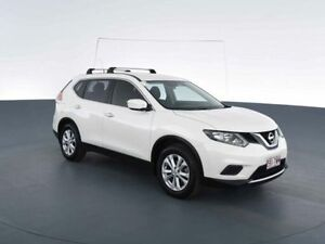 2014 Nissan X-Trail T32 ST (4x4) White Continuous Variable Wagon Virginia Brisbane North East Preview