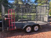 Custom Trailer - 1.8mtr x 3.6 mtr High Side Cage Trailer Morpeth Maitland Area Preview