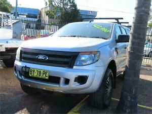 2013 Ford Ranger PX XL Hi-Rider Silver 6 Speed Sports Automatic Utility Minchinbury Blacktown Area Preview