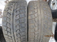 215/55/16 Gislaved Nord Frost  (2) plus 100 other good used tire