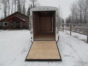 """14' CARGO TRAILER WITH 12"""" EXTRA HEIGHT Prince George British Columbia image 6"""