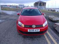 Vw golf 1.6 tdi diesel 12 months mot £3999