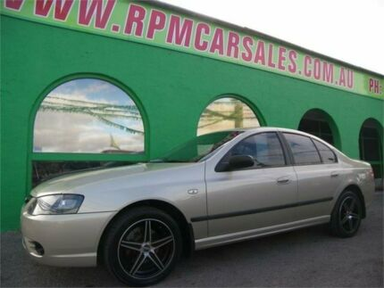 2006 Ford Falcon BF MkII XT (LPG) Kashmir Silvery Gold 4 Speed Auto Seq Sportshift Sedan Nailsworth Prospect Area Preview