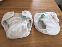 Totbots Reusable Nappies Size 1 and 2