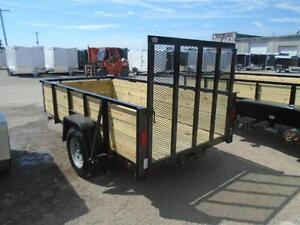 HIGH SIDED UTILITY TRAILER W/MORE FEATURES 5X10 BED SIZE London Ontario image 2