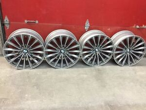 4 Mags BMW Stagger 19'' pour Serie 5GT ou Serie 7