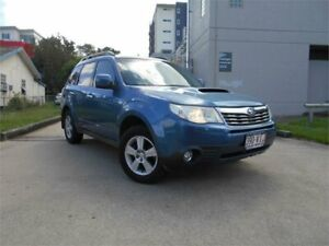 2010 Subaru Forester S3 MY10 2.0D AWD Blue 6 Speed Manual Wagon