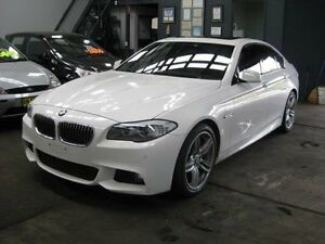 2012 BMW 5 F10 MY12 28I White 7 Speed Automatic Sedan Camden Camden Area Preview