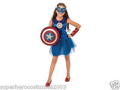 Avengers Age Of Ultron Captain America Dream Costume MED 8-10 620034 Rubies