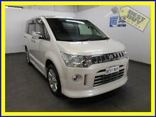 2007 Mitsubishi Delica D:5 CV5W Pearl White Constant Variable Van Greenacre Bankstown Area Preview