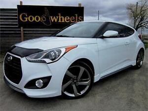 2014 Hyundai Veloster TURBO-SUNROOF-NAVIGATION-REAR CAMERA-BLUET