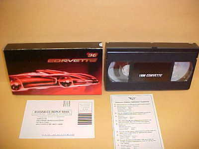 1998 NEW ORIGINAL CORVETTE VHS VIDEO CHEVY VETTE (FROM OWNERS MANUAL KIT) 98 ()