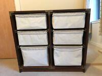 Set of 6 drawers