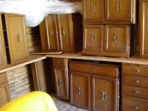 I am Looking for used Kitchen Cabinets and Countertops