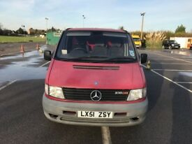 Mercedes Benz VITO 108 CDI SWB (2001 Model)