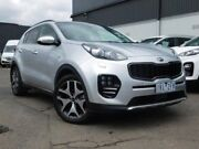 2017 Kia Sportage QL MY17 GT-Line AWD Silver 6 Speed Sports Automatic Wagon Fawkner Moreland Area Preview