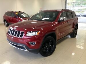 2015 Jeep Grand Cherokee Limited 4X4, CUIR, TOIT, NAV, CAM, BLUE