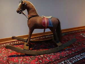 Antique Child's Rocking Horse   c. 1900 West Island Greater Montréal image 1