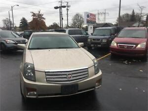 2006 Cadillac CTS, low kms! sunroof, leather, seat warmer!