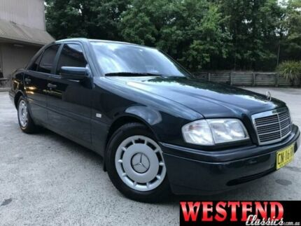 1997 Mercedes-Benz C200 Green Automatic Sedan