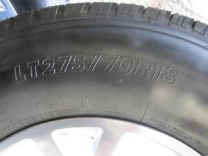 LT275/70R18 10PLY ON RIMS Strathcona County Edmonton Area image 2