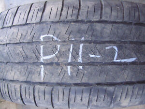 Two Goodyear Eagle LS 275/55R20 Used Tires