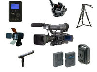 JVC GY-HD200E professional camcorder with full kit , very low hours, fantastic offer