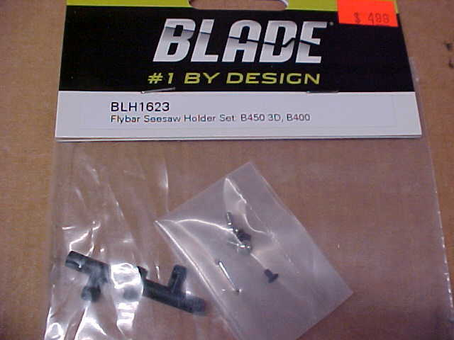 BLADE BLH1623 FLYBAR SEESAW HOLDER SET B400, B450 3D NEW  - $5.25