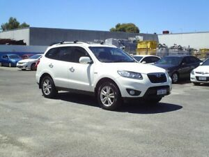 2011 Hyundai Santa Fe White Automatic Wagon Embleton Bayswater Area Preview
