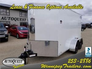 "Southland Royal Cargo XR 6' x 12' (+2) x 72"" Enclosed Trailer"