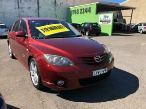 2005 Mazda 3 BK1031 SP23 Red 4 Speed Sports Automatic Hatchback Lidcombe Auburn Area Preview