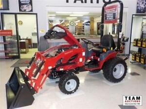 2017 Mahindra eMax S22 MFWD Compact Loader Tractor (Brand new)