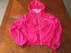 Bright HOT Pink Youth XL Abercrombie Spring Jacket
