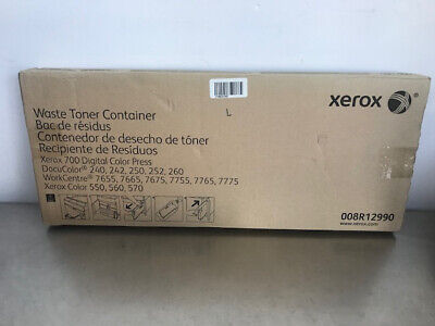 Xerox 008r12990 Waste Toner Container Workcentre 7775 7765 7755 7675 7665 7655