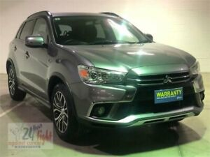 2018 Mitsubishi ASX XC MY18 LS Grey Constant Variable Wagon Campbelltown Campbelltown Area Preview