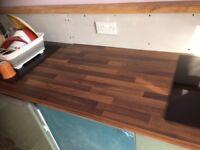 Oak effect kitchen worktop 3 metres (290cm) for sale