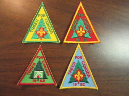 Trees for Canada 4 Different Patches      c3