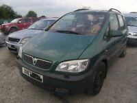Vauxhall Zafira 2.0 dti breaking ask for any parts