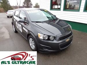 2016 Chevrolet Sonic LT HB for only $113 bi-weekly all in!