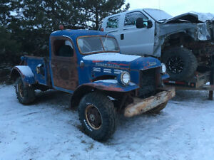 Wanted: old dodge truck parts power wagon